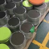 焦げ付き防止、カラーは調理器具のためのアルミニウム円に塗った