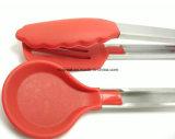 Pinces de Salat de silicones de vaisselle de cuisine de mode