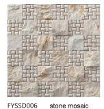건축재료 불규칙한 벽 도와 대리석 모자이크 (FYSSD011)