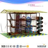 Stationnement d'intérieur de cours de corde d'enfants pour le matériel d'intérieur de parc d'attractions de cour de jeu