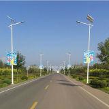 Уличный свет шоссе городка города солнечный
