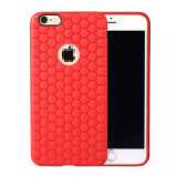 iPhoneのためのHyperion TPU Honey Pattern Combo言い分Cover
