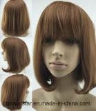 La maggior parte della parrucca sintetica diritta del nero femminile popolare dei capelli