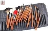 щетка состава волос профессиональной косметической ручки инструмента 26PCS первоначально деревянной естественная
