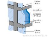 Spandralガラスのための薄板にされたガラス
