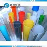 Tubi di plastica dell'acrilico PMMA di alta qualità con i colori su ordinazione