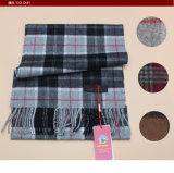 純粋なヤクのウールの格子スカーフのカシミヤ織の衣服のヤクのウールの衣類かファブリックまたは織物またはニットウェア