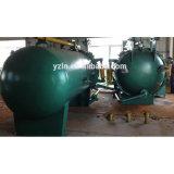 De Apparatuur van de Filter van het Blad van de olie met Horizontale Stijl
