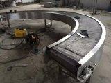 Transporte de correia do engranzamento de fio do metal da qualidade superior