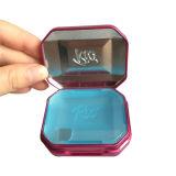 Innerer Kappen-Metallfrische Minze-Kasten-Plastikgroßverkauf mit Scharnier