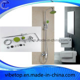 Edelstahl Rainfall Head Shower Set durch China Manufacturer