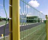 Panneaux de frontière de sécurité soudés par haute sécurité de treillis métallique avec le GV pour le matériau de construction
