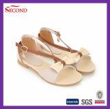 Bowknot poco costoso dei sandali dell'unità di elaborazione per la studentessa