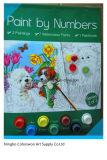 Sistema de la pintura del color de agua con el cepillo y papel de Drwaing para creativo y DIY