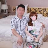 Poupées réelles de fille japonaise de silicones de fabrication pour le mâle adulte