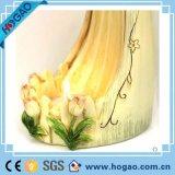 Supporto di candela da tavolo di angelo della resina di nuovo disegno per la decorazione domestica