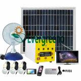Sistema de energia solar sozinho Home de sistema de grade da potência solar fora/do carrinho