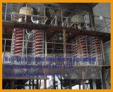 Separatore a spirale di lavaggio della pianta del minerale metallifero del bicromato di potassio