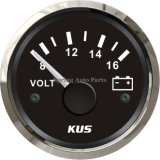 52mm populaires Voltmeter Voltage Gauge 12V/8-16V avec Backlight
