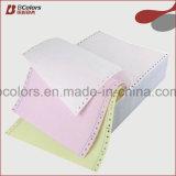Papel continuo del papel de impresora POR PUNTO
