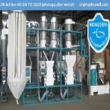 Moinho de farinha do trigo instalado no moinho de farinha da qualidade de África