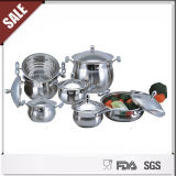 batterie de cuisine Set de 16PCS Stainless Steel