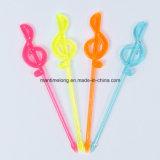 цветастые пластичные установленные выборы вилки плодоовощ еды формы музыкального примечания 50PCS/Pack