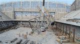 La azotea de acero ata la estructura