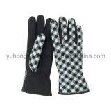 Перчатки/Mittens печатание ватки повелительницы Тепл однослойные приполюсные