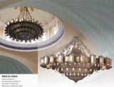 모로코 금관 악기 완료 큰 프로젝트 샹들리에 점화 (KAM0010-2500)
