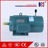 高性能Yej-132s1-2 5.5kwの三相ブレーキAC非同期モーター