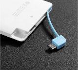 새로운 디자인 휴대용 신용 카드 USB 힘 은행