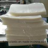 Мешок пластичного HDPE супермаркета плоский на крене