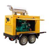 Gerador diesel 200kw 250kVA do reboque silencioso de Googol com ATS