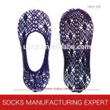 Ladies Nylon Fishnet Boat Socks (UB-131)