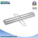 Stand de publicité en aluminium d'exposition de doubles côtés