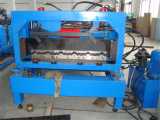 熱いTrapazoidalは機械を形作る鋼鉄モジュラータイル屋根ロールを艶をかけた