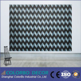 El panel acústico de la pared de madera material de la fibra de la decoración con Ce aprobó