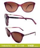 De met de hand gemaakte Zonnebril van de Acetaat van de Zonnebril met de Glazen Van uitstekende kwaliteit