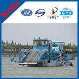 水生Weedの打抜き機または販売のための草の収穫機またはWeedの切断の船