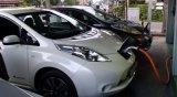 Groene Draagbare Lader EV voor Elektrisch voertuig