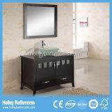 Мебель ванной комнаты американского типа люкс с 2 зеркалами и тазиками (BV143W)