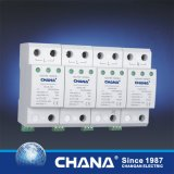 Pararrayos del dispositivo protector SPD 40ka de la oleada de relámpago de la C.C. 3phases