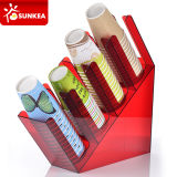 Café Service Condiment Organizer com Compartments