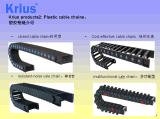 Catena flessibile di plastica di resistenza della pista di CNC del collegare del cavo