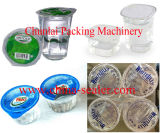 Waschende füllende Dichtungs-Maschine des Cup-Gf-4