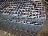 Grata dell'acciaio saldata pressione nera