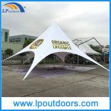 Outdoor Single Top Customs Printing Publicité Canopy Star Shape Tent