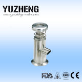 Soupape témoin d'acier inoxydable de Yuzheng avec la sortie de soudure