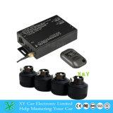 Système de contrôle sans fil de pression de pneu dans le DVD, détecteur de la mesure 12V de pneu de détecteur de pression de pneu